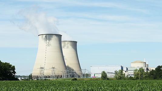 gray power plant