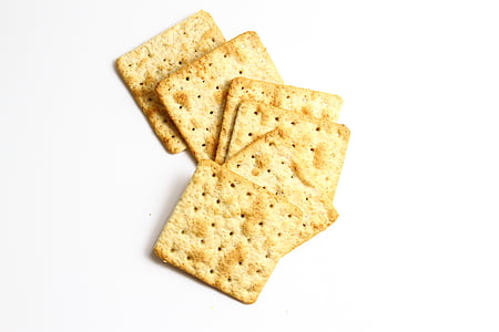 six square biscuits