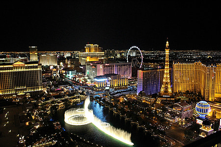 aerial view photography of Las Vegas