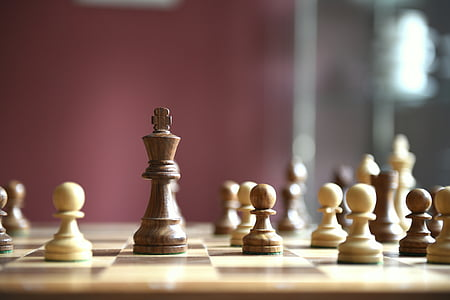 chess piece and board