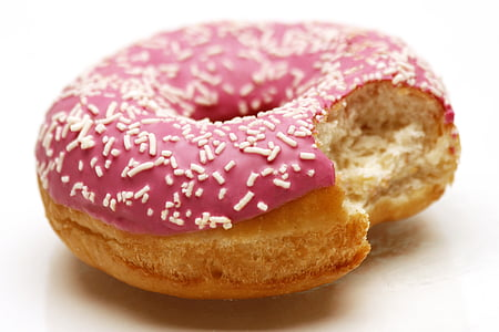 bite of donut