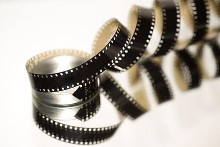 black photo strip
