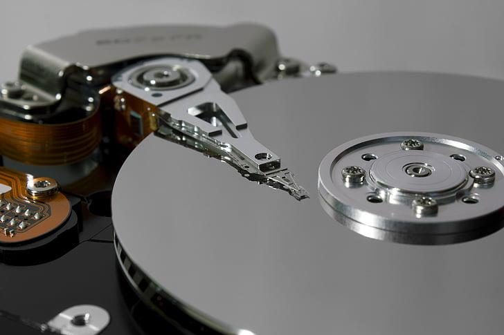 hard disk, disco, computer, data, technology, hard Drive