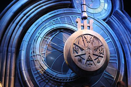 harry, potter, clock, harry potter, famous, tick