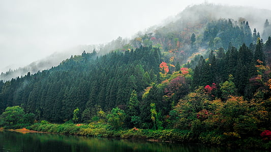 mountain range photograph