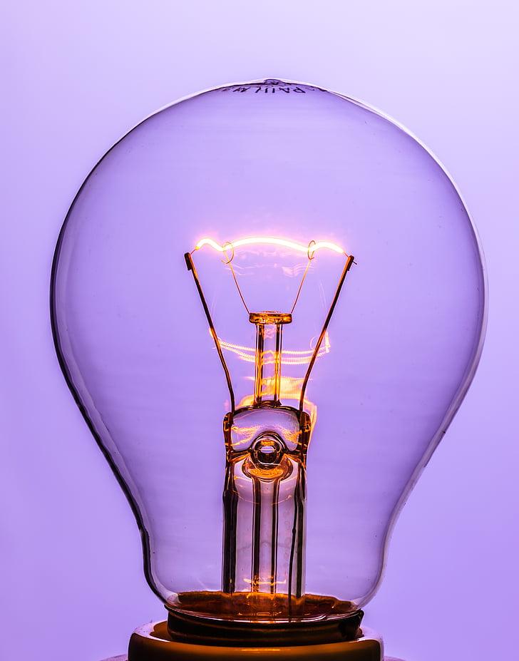 close up photography of LED light bulb