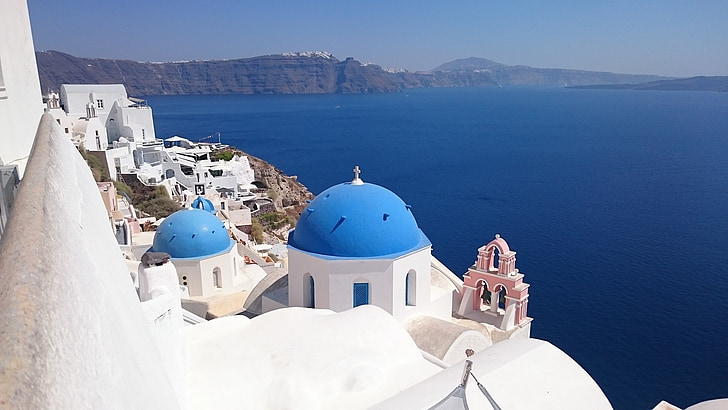 السياحة في جزيرة سانتوريني، اليونان