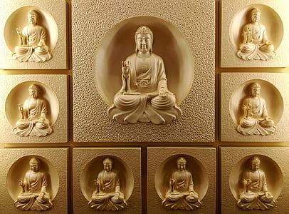 Buddha statue lot
