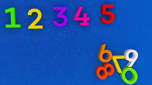 numbers, education, kindergarten, school, backgrounds