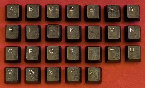 alphabet keyboard keys