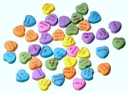 assorted heart-shaped tablet souvenir lot