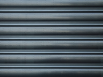 sheet, holes, roller shutter, perforated sheet, metal, geometry