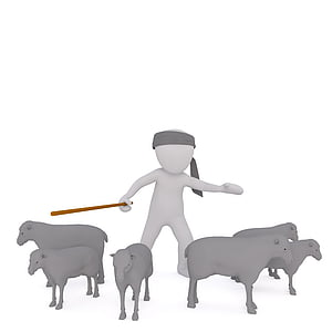shepherd animated character