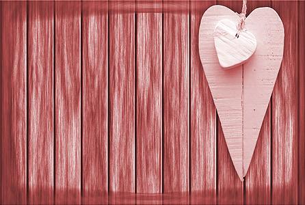 brown heart art