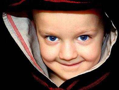 toddler wearing black and red hoodie