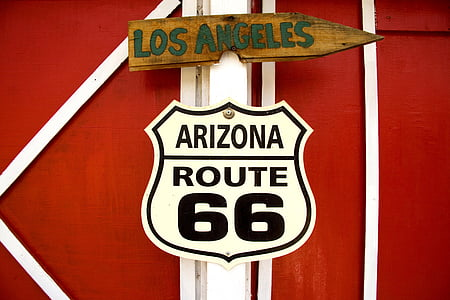 Arizona Route 66 signage