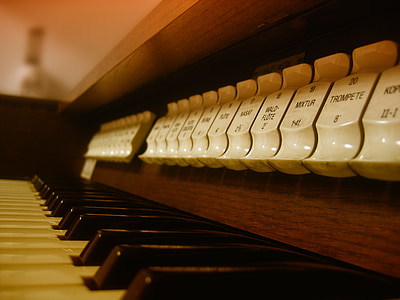 macro shot photography of piano keys