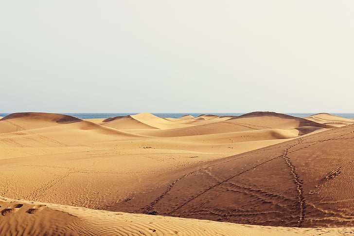 aerial photography of desert during daytime