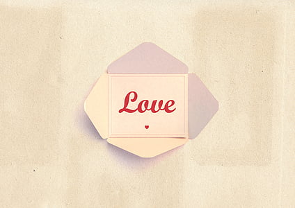 white Love letter