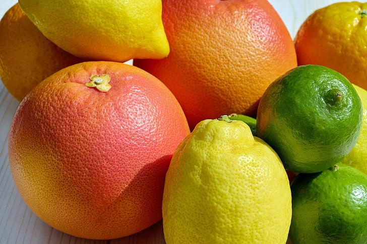 assorted fruit lot