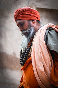 human, india, hindu, portrait, men, people