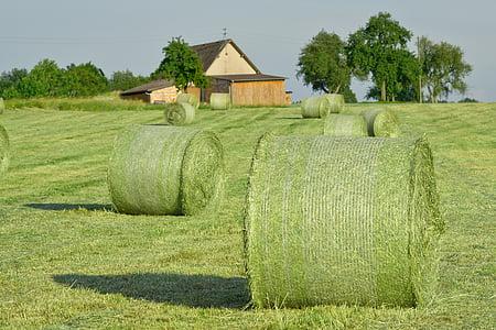 green round bales