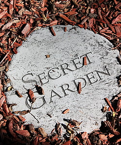 secret garden engraved board