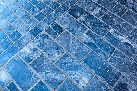 teal flooring tiles