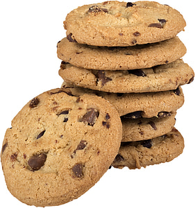 bunch chocolate chip cookies