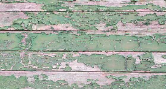 green and brown wood plank