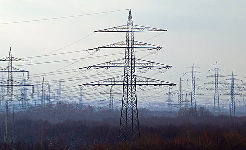 black electric post
