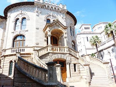 beige concrete castle