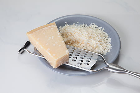 gray steel cheese grater