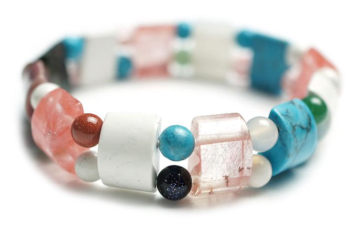 beaded multicolored bracelet