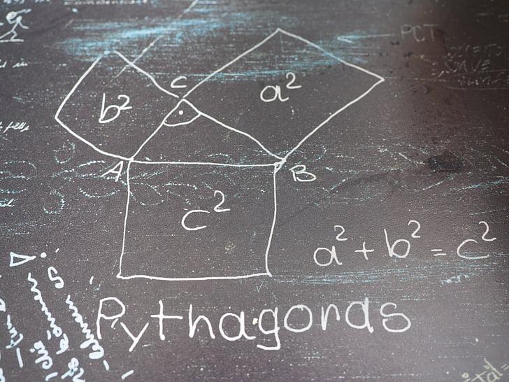 Royalty-Free photo: Pythagoras theorem formula | PickPik