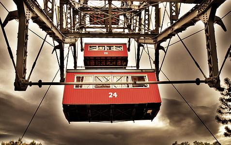 red and gray machine