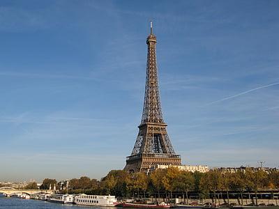 Eiffel Tower, Paris at daytime
