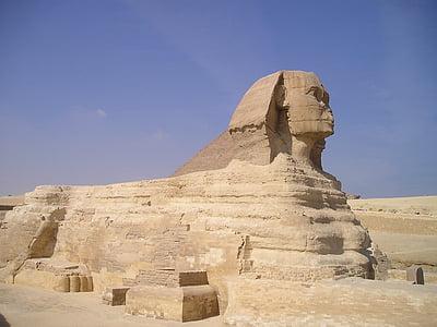 Sphynx statue, Egypt