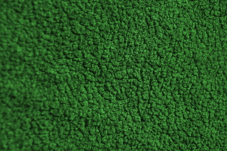 fabric, close, macro, green, textile, surface
