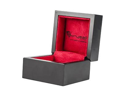 black accessory box