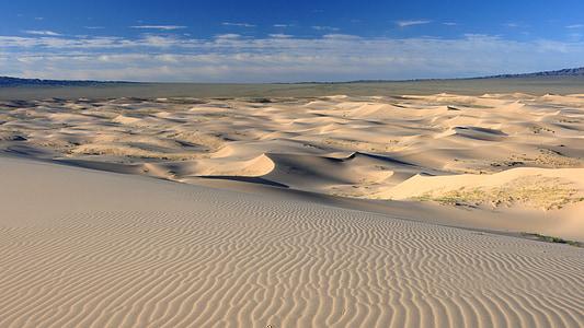 gray desert sand