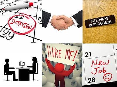 job application process collage