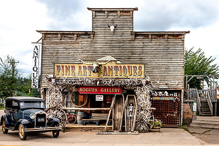 Fine Art Antiques Rogues Gallery building