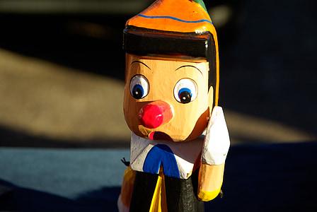 selective focus photo of Pinocchio