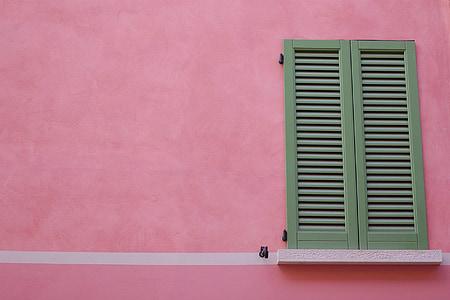 photo of gray wooden door