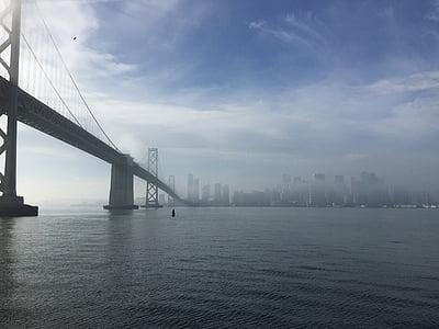 gray bridge under cloudy ksy