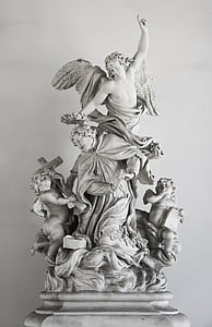 angels ceramic figurine