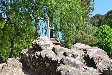 sword on stone