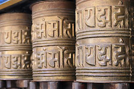 prayer wheel, buddhism, nepal, kathmandu, faith