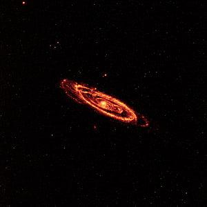 red galaxy illustration
